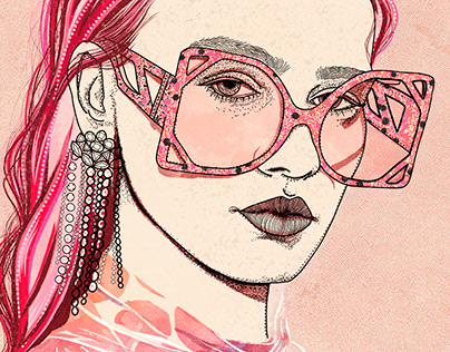 Fashion Portraits for Spring- Ariana Pacino