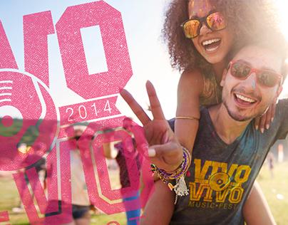 VIVO VIVO Music Fest - Quito Branding