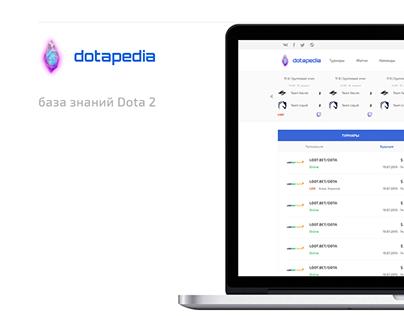 Dotapedia - информационный портал Dota 2