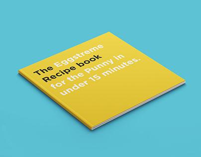 The Eggstreme Recipe book