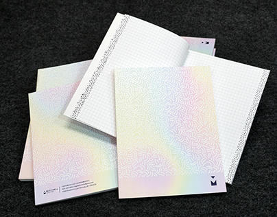 Dimensional Ink Holographic Notebook