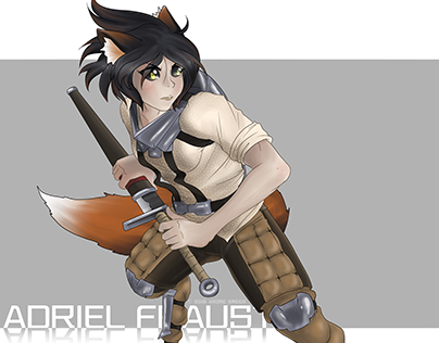 Adriel Fraust Character Design