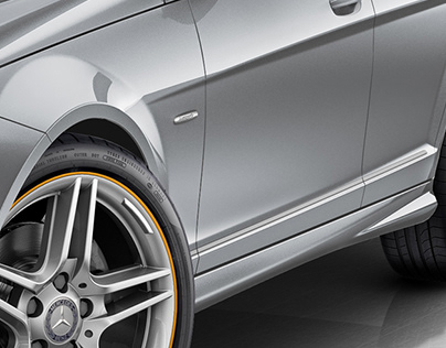 Mercedes Class C - CGI Work