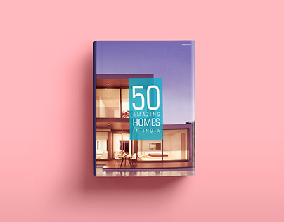 50 Amazing Homes In India - Book