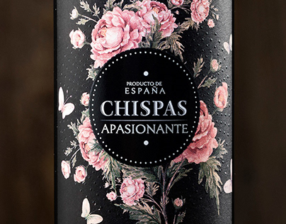 Chispas. Lable design