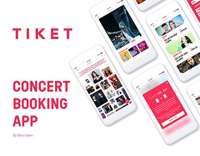 Tiket Concert Book App