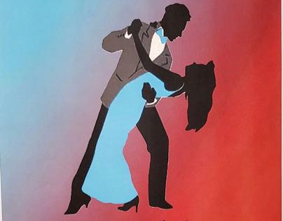 Ballroom Dance Poster