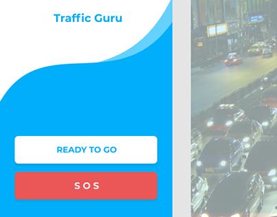 Traffic Assistance App Mobile Figma Prototype