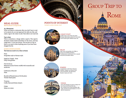 Rome Brochure