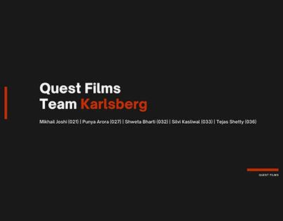 Quest Films   Live Brief
