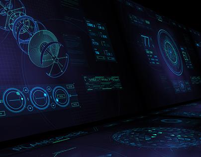 COMSAT - Futuristic User Interface