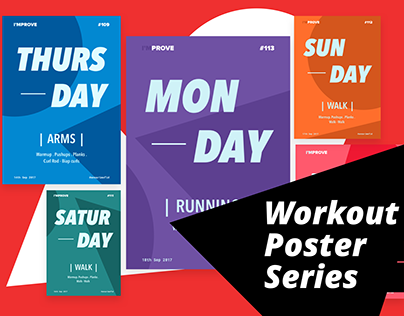 Workout Poster Series