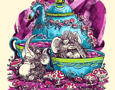 Animales misticos y delirium tremens