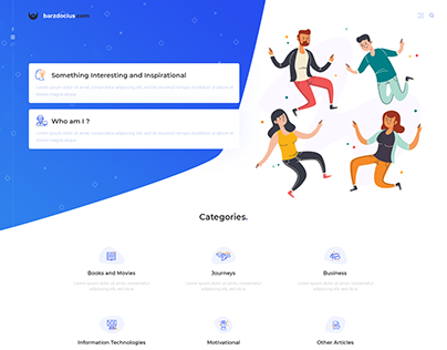 Barzdocius.lt landing page