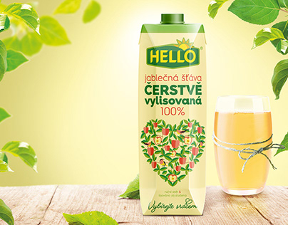 HELLO APPLE JUICE | Second Best Selling Brand in the CZ