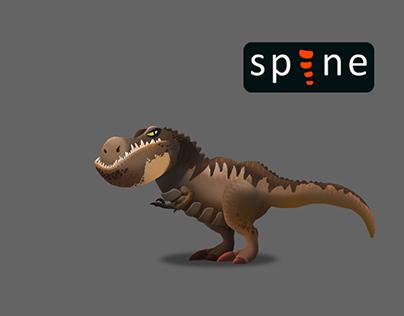 spine animation