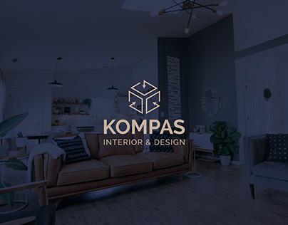 KOMPAS Interior & Design Brand Identity