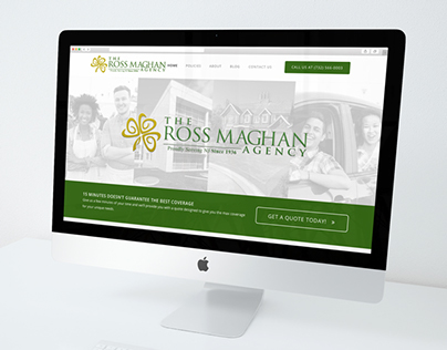 The Ross Maghan Agency - Website Redesign