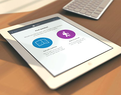 Configurator concept: iPad