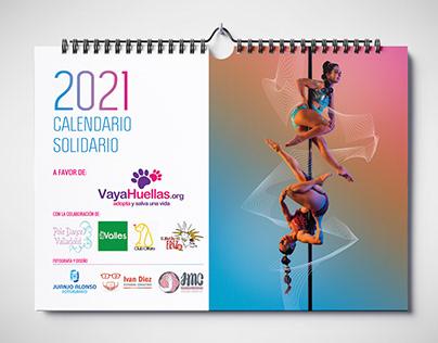 Vaya Huellas   Calendario 2021   Diseño gráfico