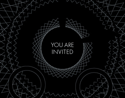 MONTBLANC+WIRED EVENT INVITATION