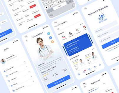 DoctorCode - Doctor Find Mobile App