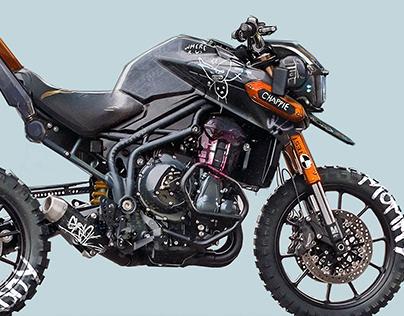 Chappie inspired motorcycle II.
