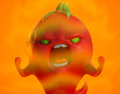 His scoville scale it's over 9000!