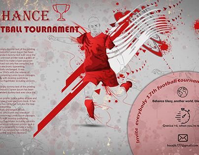 Tournament poster design