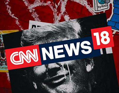 Redesign of CNN news website