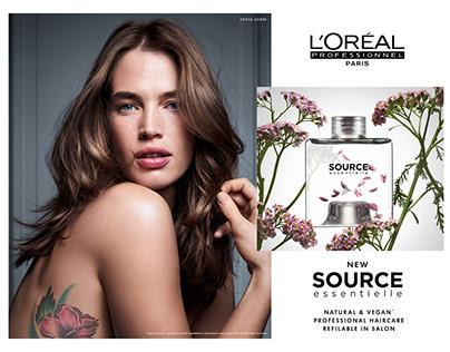 L'Oreal Professionnel Botanea / The Source