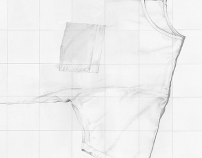 White T Drawing
