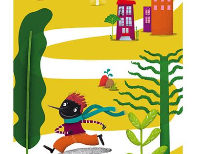 PINOCCHIO cover + BW illustrations