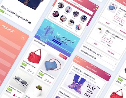 UI UX & Interaction - eCommerce App Builder | Mobikul