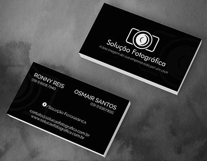 Card Business - Solução Fotográfica