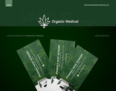 Leaflet Design for Organic Medical