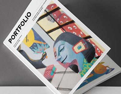 Portfolio Magazine (Albert's Portfolio)