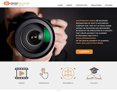 UX / UI - eLearning Interactive Education Portal