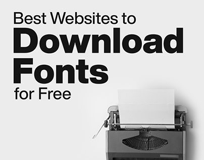 Best websites to Download Free Fonts