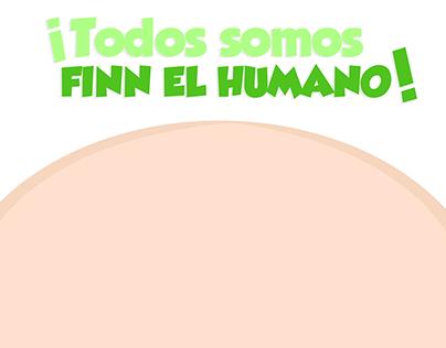 ¡Todos somos Finn el Humano!