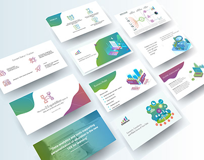 Presentation design for Educational project