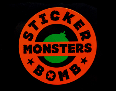 STICKERBOMB MONSTERS 2012