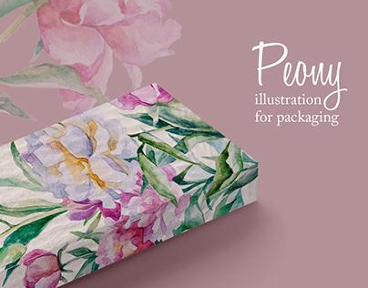 Flowers Illustration for packaging