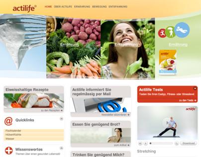 Actilife.ch Gesundheitsportal