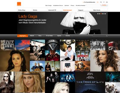Orange.ch Entertainment