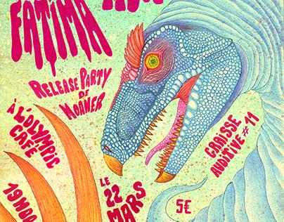 Flyer Concert Metal