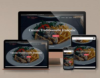 Création du site - Bar Brasserie L'Authentique