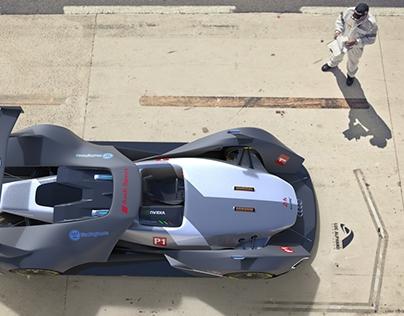 Audi R30 electron ultra quattro Concept