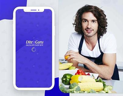 Personal Nutrition (Dite) GuideApp Design for Dite Guru