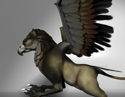 Griffin character design